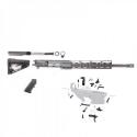 AR-9 9MM 16 CARBINE TACTICAL RIFLE KIT W 12 SLIM KEYMOD RAIL AND ROGER STOCK