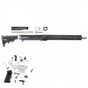 AR-9 9MM 16″ RIFLE BUILD KIT W/15″ SUPER SLIM KEYMOD RAIL, NON LRBHO