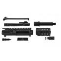 AR-9 9MM 5″ UNASSEMBLED PISTOL UPPER WITH BCG AND CHARGING HANDLE