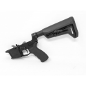 MA-9 9MM GLOCK STYLE COMPLETE BILLET LOWER WITH MAGPUL MOE SL-K STOCK
